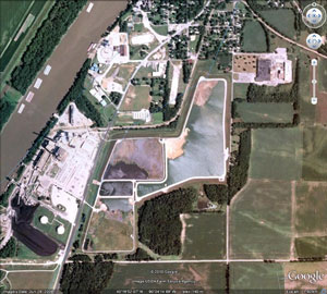 havana coal ash impoundment